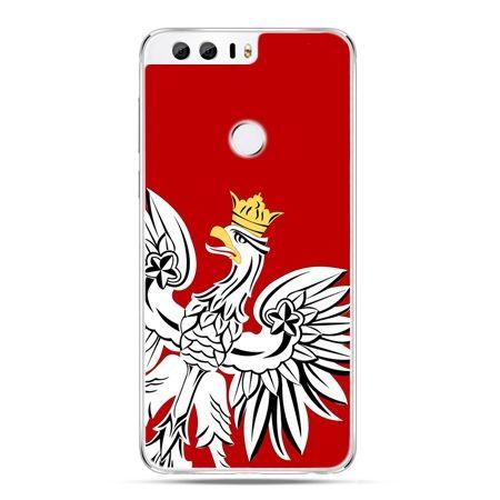 Etui na Huawei Honor 8 - Orzeł Biały patriotyczne