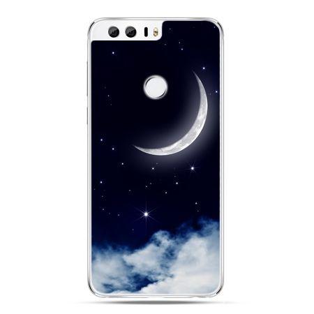 Etui na Huawei Honor 8 - księżyc