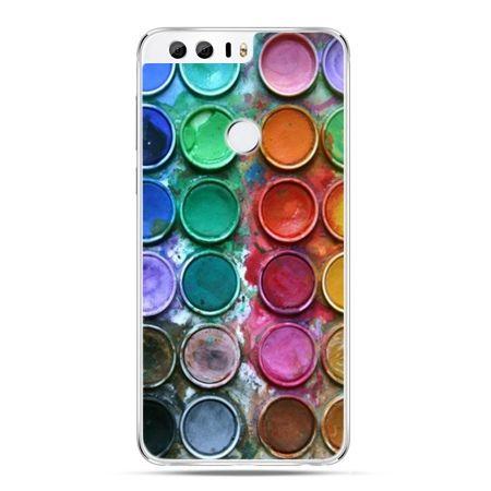 Etui na Huawei Honor 8 - kolorowe farbki