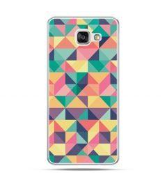 Etui na Samsung Galaxy A3 (2016) A310 - kolorowe trójkąty
