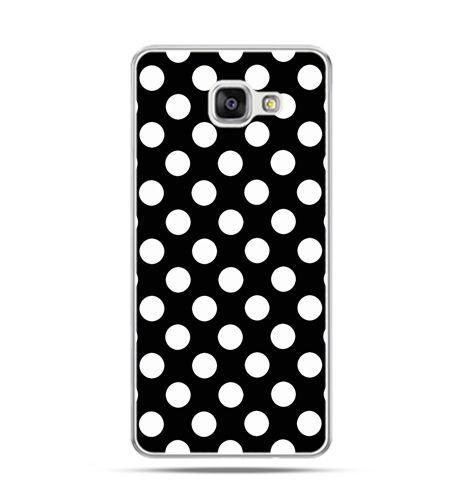 Etui na Samsung Galaxy A3 (2016) A310 - Polka dot czarna