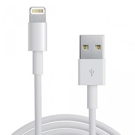 Lightning kabel do iPhone 5 / 6 , iPad - 1m biały.