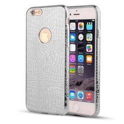 iPhone 6 / 6s silikonowe etui Skin Pattern - srebrny. PROMOCJA!!!
