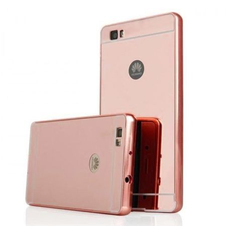 detailed look 342f3 867fb Huawei P8 Lite Mirror bumper case (Rose Gold) - Różowy