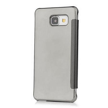 Samsung Galaxy A3 2016 etui Flip Clear View mirror z klapką - srebrny.