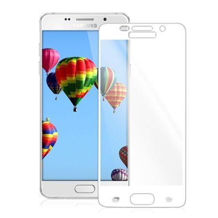 Hartowane szkło na cały ekran 3d Galaxy A3 2016 - biały.