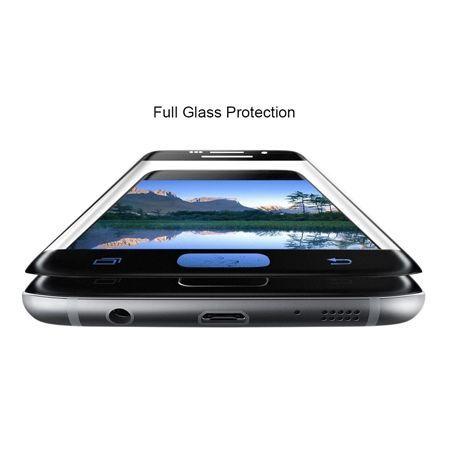 Hartowane szkło na cały ekran 3d Galaxy S7 - biały.