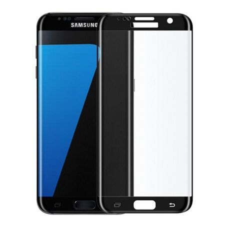 Hartowane szkło na cały ekran 3d Galaxy S7 Edge - czarny.