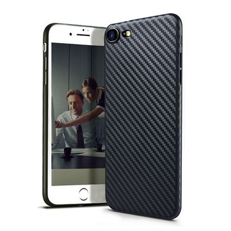 iPhone 7 etui silikonowe Slim TPU Carbon.