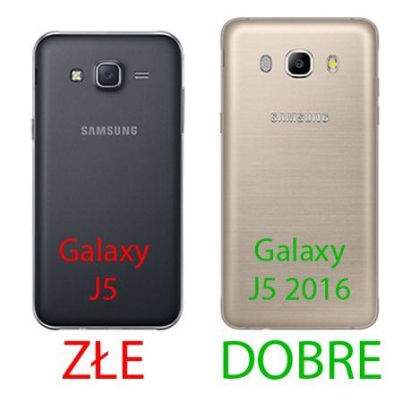 Pancerne etui na Galaxy J5 2016r - niebieski.