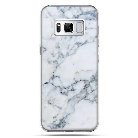 Etui na telefon Samsung Galaxy S8 - biały marmur