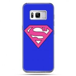 Etui na telefon Samsung Galaxy S8 - Supergirl