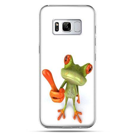 Etui na telefon Samsung Galaxy S8 - śmieszna żaba