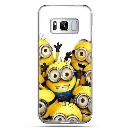 Etui na telefon Samsung Galaxy S8 - Minionki