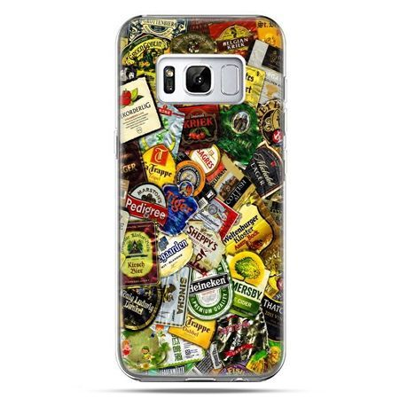 Etui na telefon Samsung Galaxy S8 - etykiety