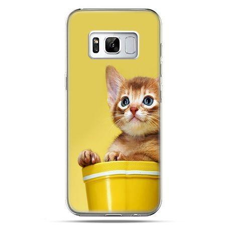 Etui na telefon Samsung Galaxy S8 - kot w doniczce