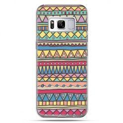Etui na telefon Samsung Galaxy S8 - Azteckie wzory