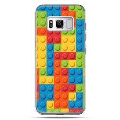 Etui na telefon Samsung Galaxy S8 - kolorowe klocki