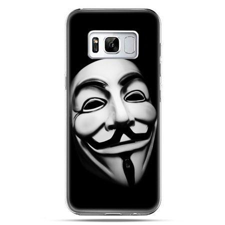 Etui na telefon Samsung Galaxy S8 - maska Anonimus