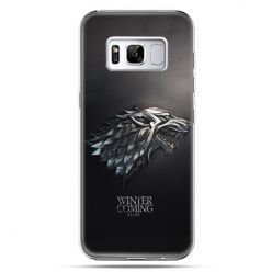 Etui na telefon Samsung Galaxy S8 Plus - Gra o Tron Stark Winter is coming
