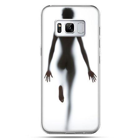 Etui na telefon Samsung Galaxy S8 Plus - kobieta za szybą