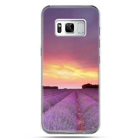 Etui na telefon Samsung Galaxy S8 Plus - wrzosowisko