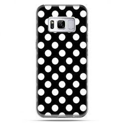Etui na telefon Samsung Galaxy S8 Plus - Polka dot czarna