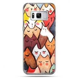 Etui na telefon Samsung Galaxy S8 Plus - koty