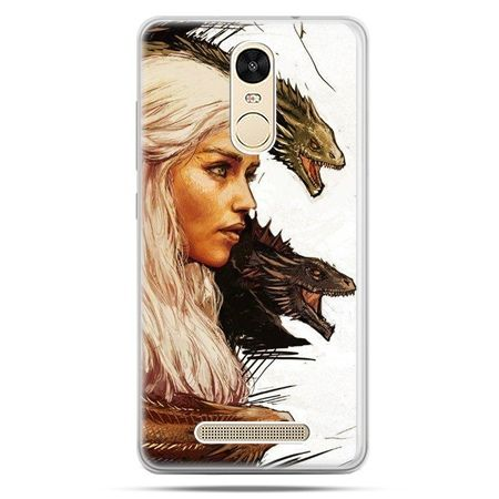 Etui na Xiaomi Redmi Note 3 - Gra o Tron Daenerys Targaryen