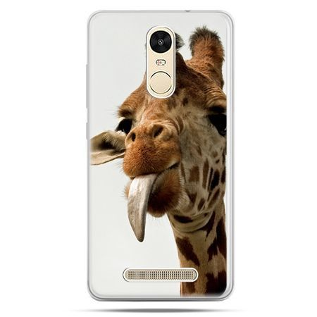 Etui na Xiaomi Redmi Note 3 - żyrafa z językiem