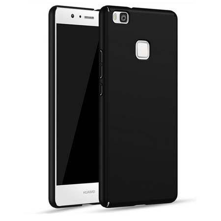 Matowe Etui na telefon Huawei P9 Lite - Slim MattE - Czarny.