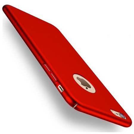 Etui na telefon iPhone 6 / 6s  Slim MattE - czerwony.