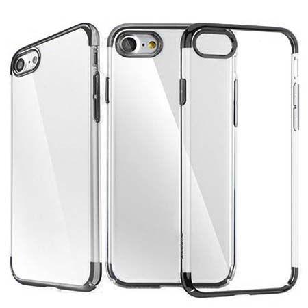 Etui na telefon iPhone 7 -  Baseus Platina - czarny.