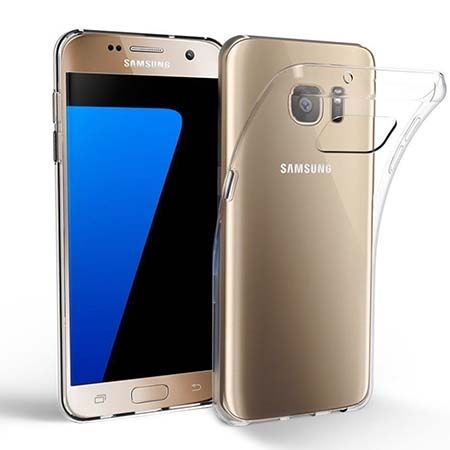 Etui na Galaxy S7 Edge silikonowe crystal clear - bezbarwne.