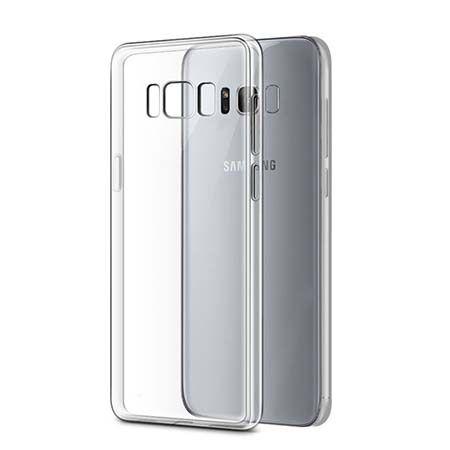 Etui na Galaxy S8 silikonowe crystal clear - bezbarwne.