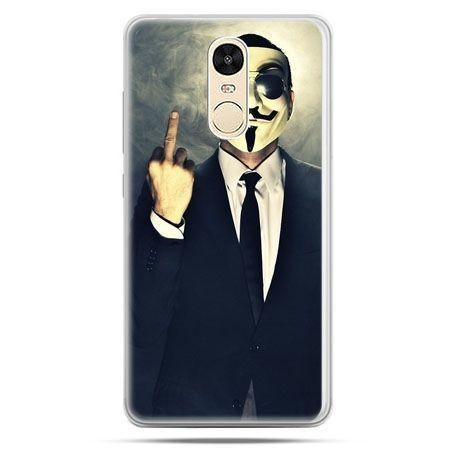Etui na Xiaomi Redmi Note 4 - Anonimus Fuck You