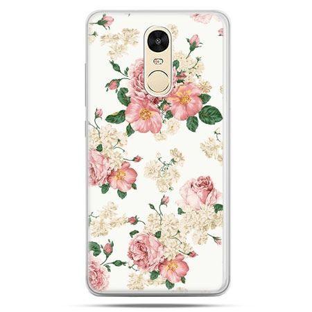 Etui na Xiaomi Redmi Note 4 - polne kwiaty