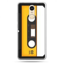 Etui na Xiaomi Redmi Note 4 - kaseta magnetofonowa