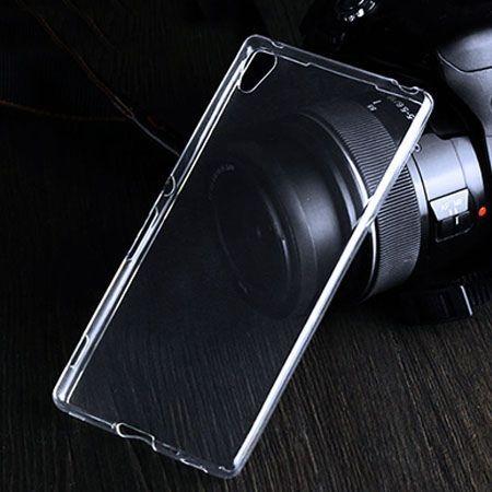 Etui na Sony Xperia Z4 silikonowe crystal case - bezbarwne.