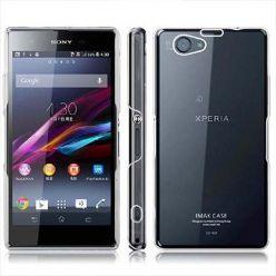 Etui na Sony Xperia Z1 Compact silikonowe crystal case - bezbarwne.
