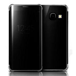 Etui na Galaxy A5 2017 Flip Clear View z klapką - czarny.