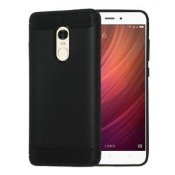 Etui na Xiaomi Redmi Note 4X - bumper Neo CARBON - Czarny.