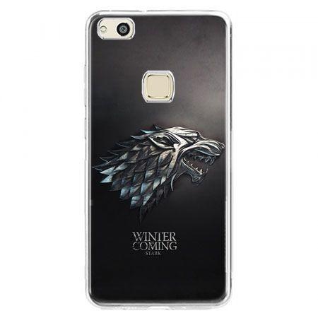 Etui na telefon Huawei P10 Lite - Gra o Tron Stark Winter is coming