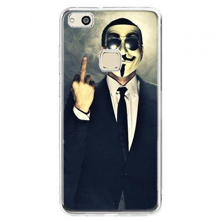 Etui na telefon Huawei P10 Lite - Anonimus Fuck You