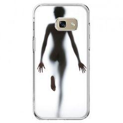 Etui na telefon Galaxy A5 2017 - kobieta za szybą