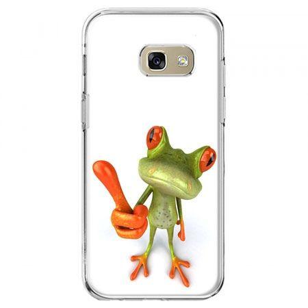 Etui na telefon Galaxy A5 2017 - śmieszna żaba