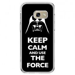 Etui na telefon Galaxy A5 2017 - Keep calm and use the force