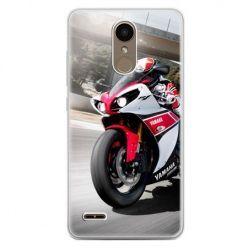 Etui na telefon LG K10 2017 - motocykl ścigacz