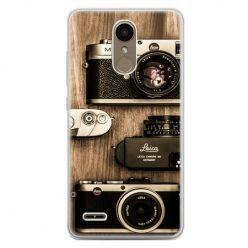 Etui na telefon LG K10 2017 - aparaty retro