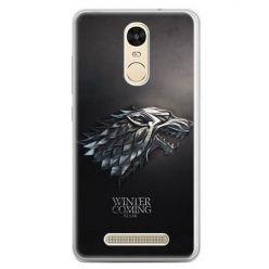 Etui na telefon Xiaomi Redmi Note 3 - Gra o Tron Stark Winter is coming
